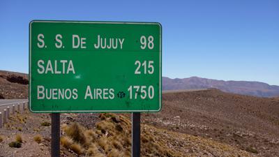 Regras de trânsito na Argentina