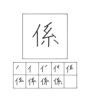 kanji menghubungkan