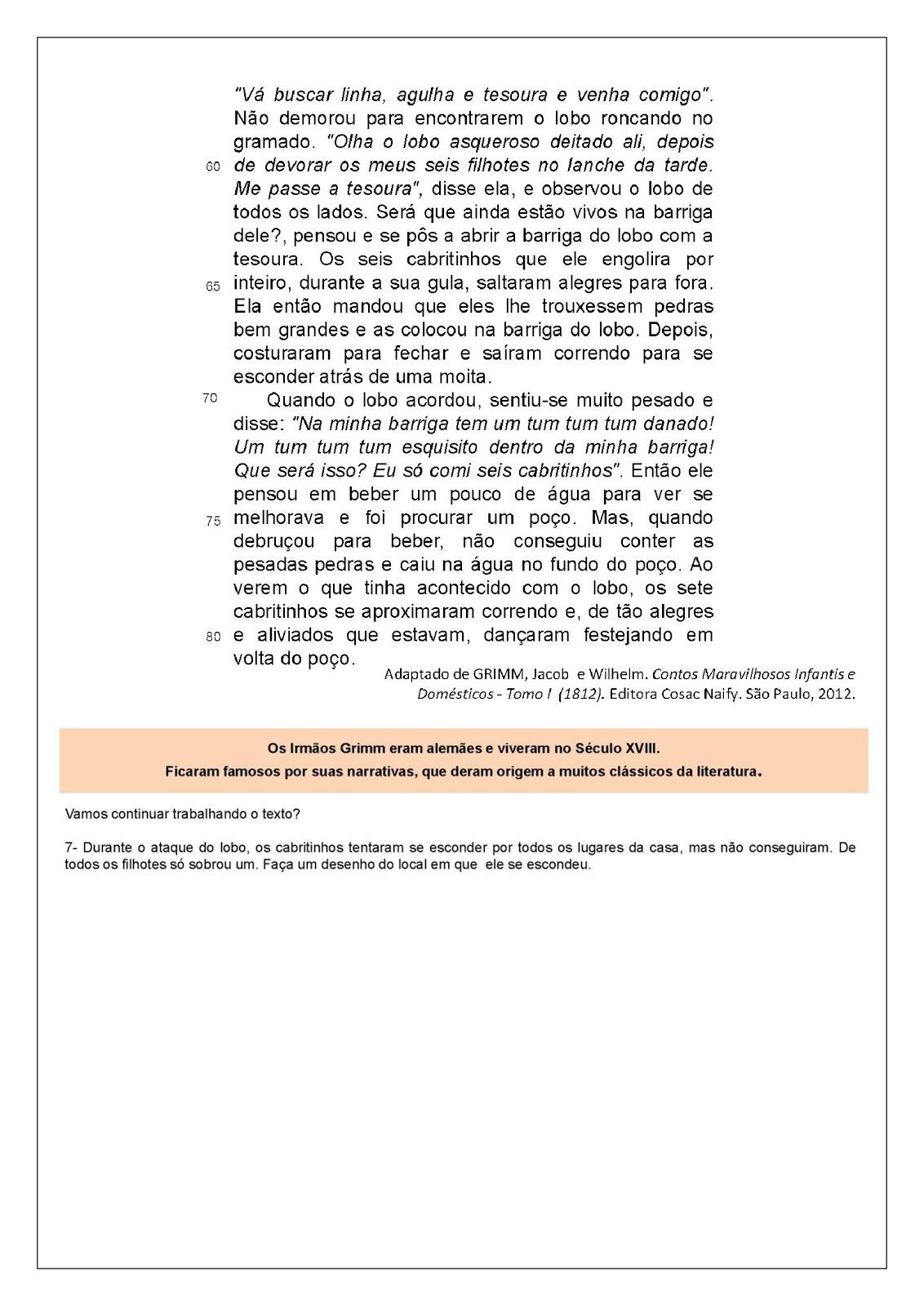 Atividades De Alfabetizacao Atividades De Portugues 4 Ano