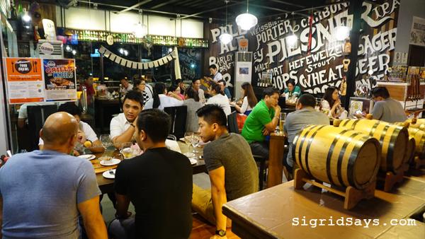 Brewery Gastropub Iloilo restaurant