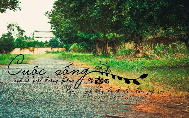 Share bộ ảnh ghép chữ tâm trạng đẹp - Văn Thắng Blog