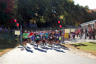 The start of the Ladybug 5K in 2015