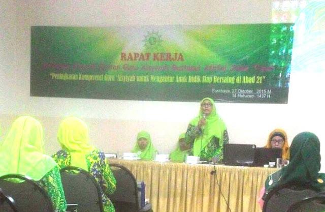 Rapat kerja guru Asyiyah kabupaten Jember