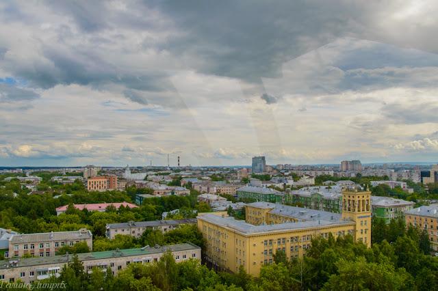 Колесо обозрения Пермь фото