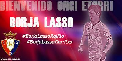 Borja Lasso Osasuna