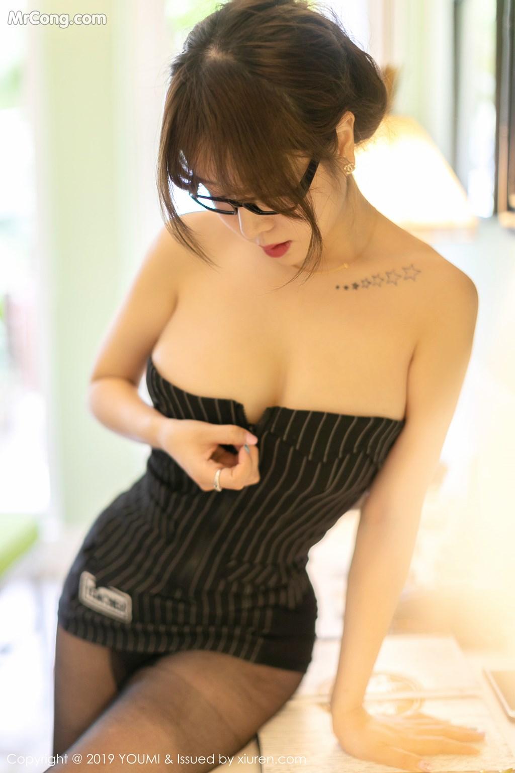 Image YouMi-Vol.307-Wang-Yu-Chun-MrCong.com-009 in post YouMi Vol.307: Wang Yu Chun (王雨纯) (50 ảnh)