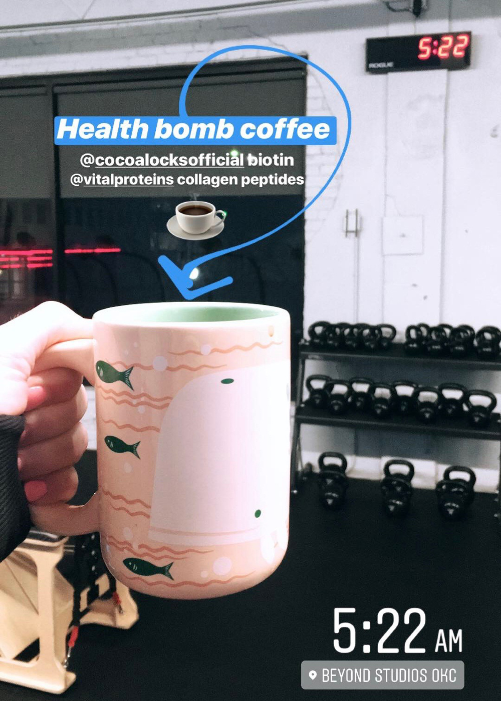 coffee before workout