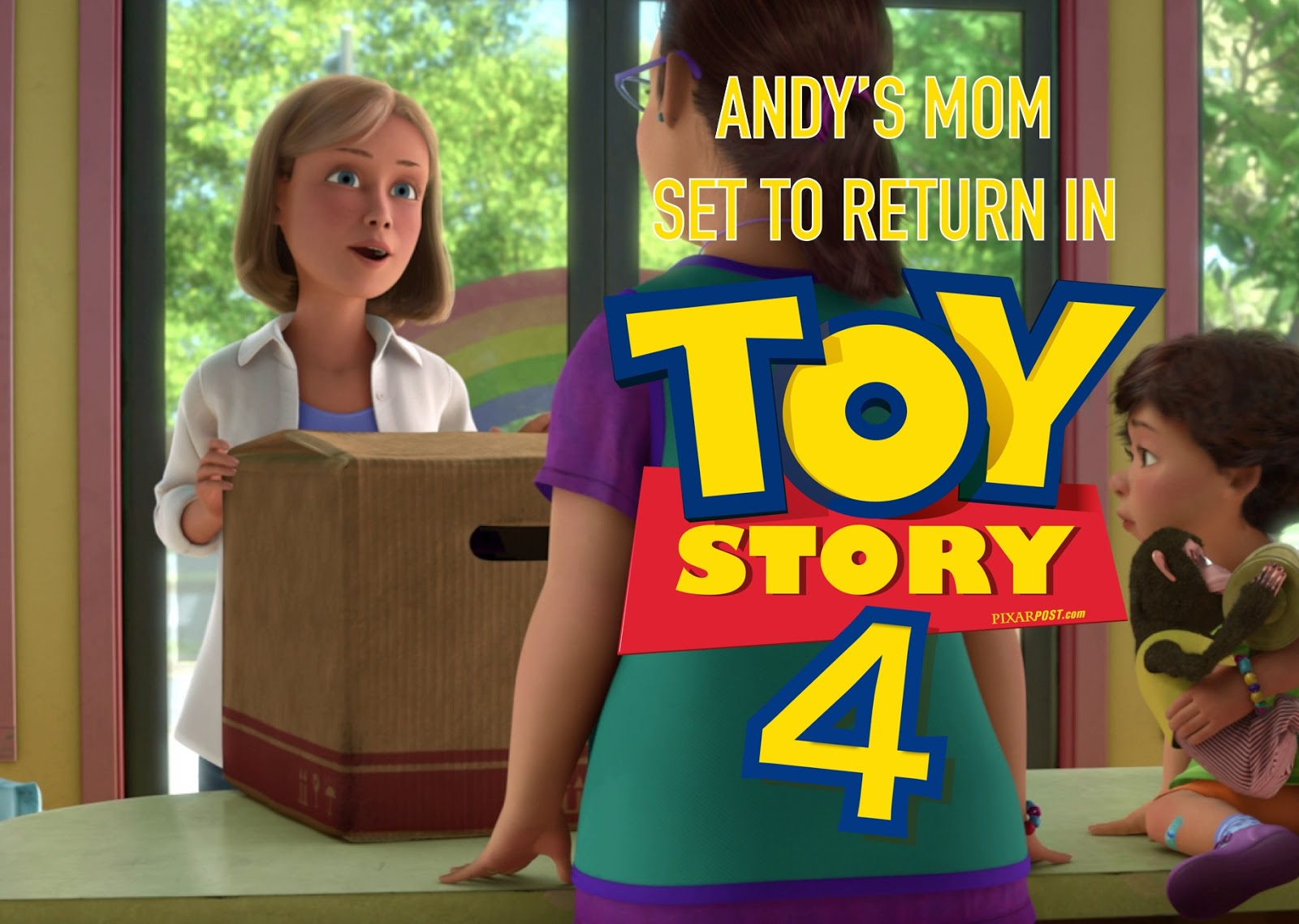 Disney Toy Story 4 Andy : Andy s mom to return in toy story pixar post