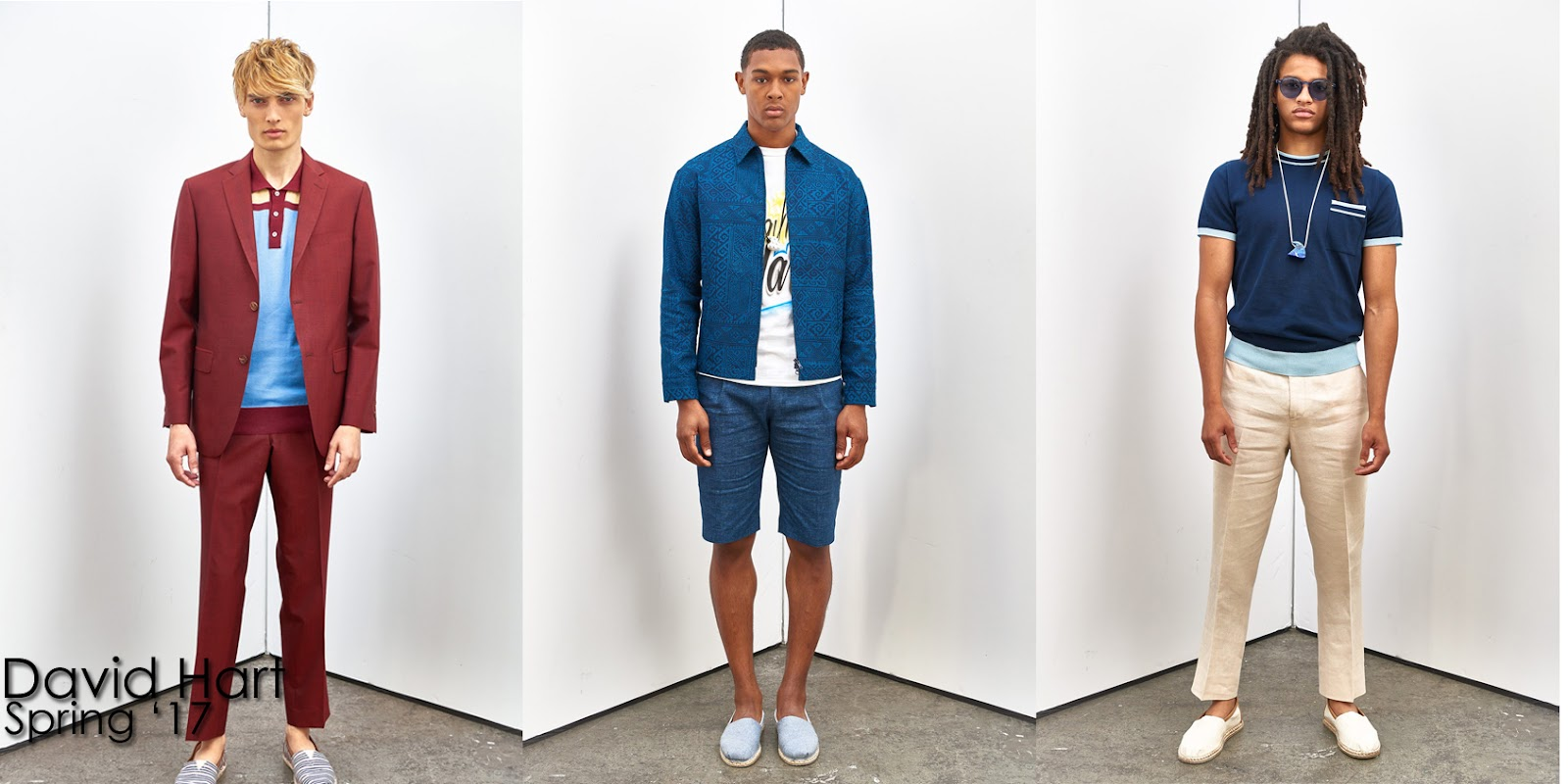 Inspection Report: David Hart Spring 2017 Menswear