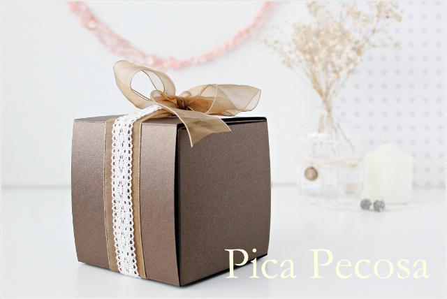 5 cajas de cart n diy para dar regalos a los invitados de una boda pica pecosa - Detalles de boda elegantes ...