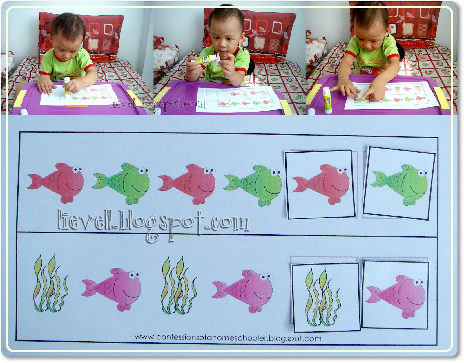 Simply Hood Preschool Letter F And Frog Theme