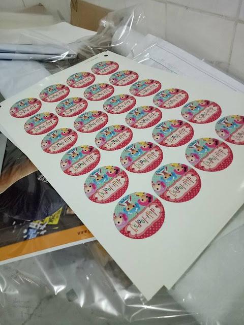 Cara Menghitung Sticker di Kertas A3