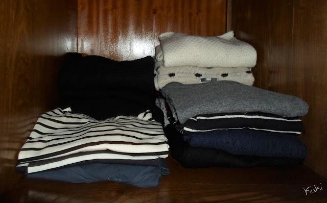 organização das camisolas, guarda-roupa