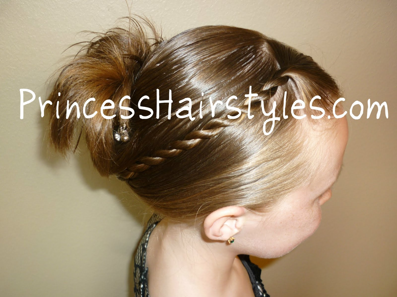 Back To School Hairstyles, Quick French Twist