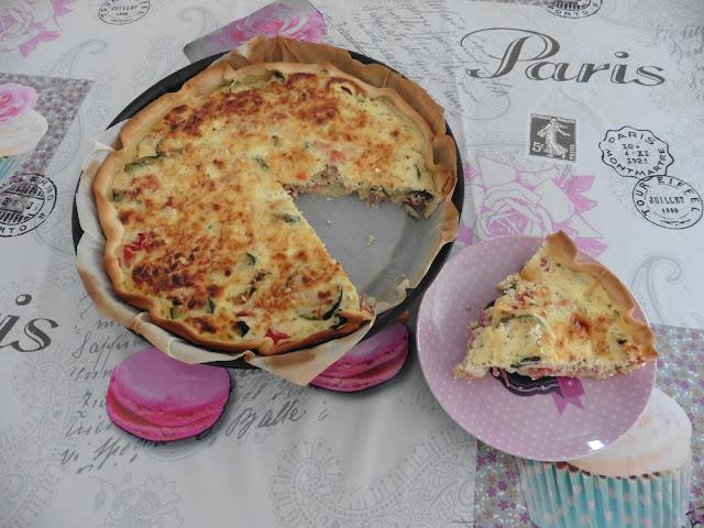 recette Tarte d'été à la Ricotta et aux Herbes de Provence