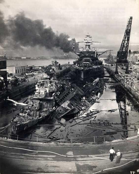 Οι Η.Π.Α. είχαν ανακατευτεί στο πόλεμο πριν από την επίθεση στο Περλ Χάρμπορ