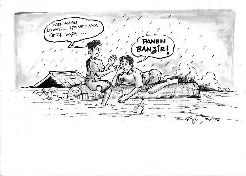 Photokabalfalah Mewarnai Gambar Tema Bencana Alam