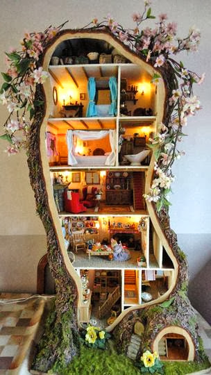 Shabby in love doll house in love la casa delle bambole for Oggetti casa strani