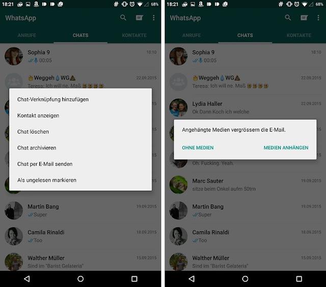 WhatsApp protocol