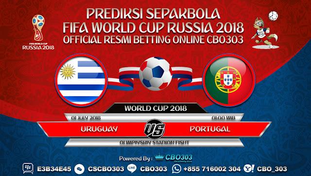 Prediksi Bola Piala Dunia 2018 Uruguay VS Portugal 1 July 2018
