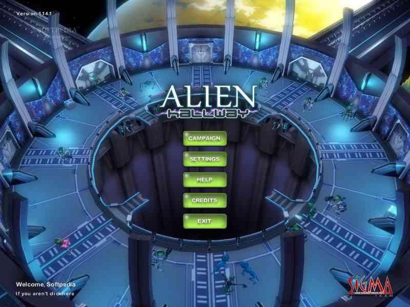 Alien Hallway Game | SKIDROW GAMING ARENA