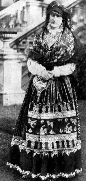 reine de Portugal en exil