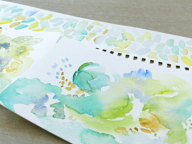 abstract watercolors