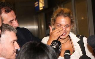 Η Κωνσταντίνα Σπυροπούλου επέστρεψε στην Ελλάδα