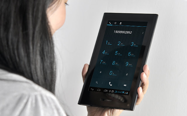 how to send a text from tablet to phone privately