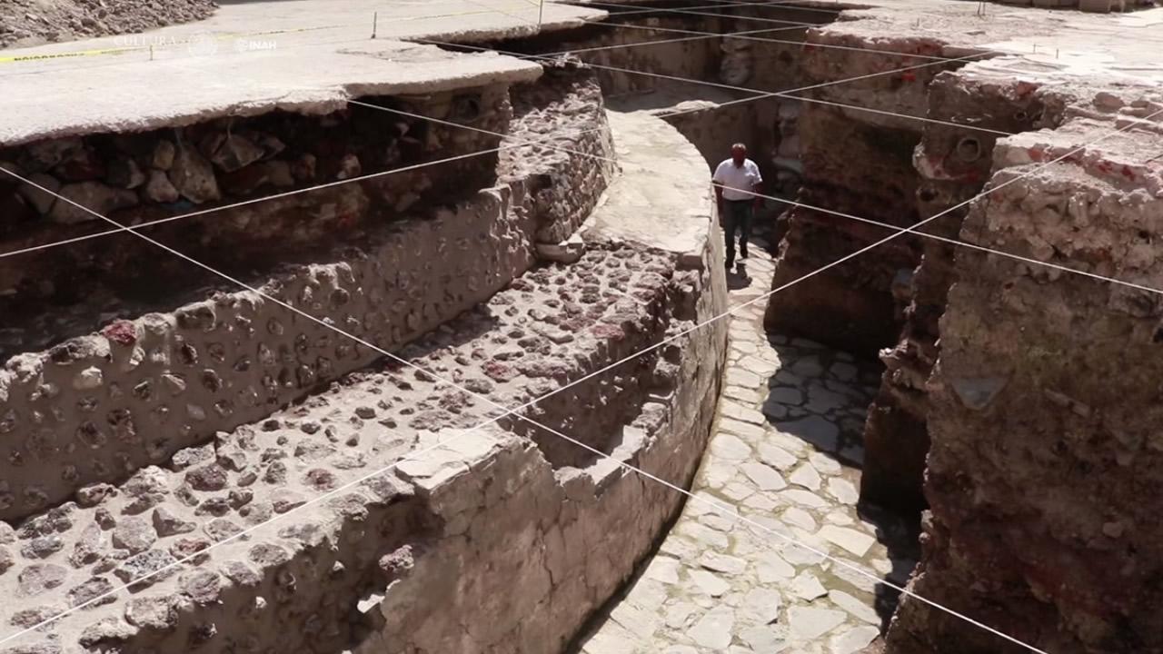 Hallan en México un templo y un juego de pelota donde los perdedores eran sacrificados a los dioses