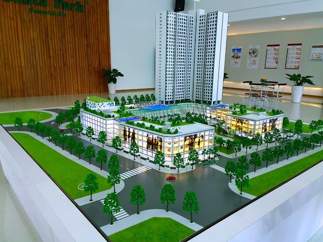 Sa bàn căn hộ chung cư Centa Park quận Tân Bình
