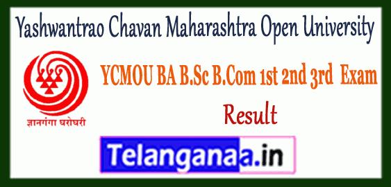 YCMOU Yashwantrao Chavan Maharashtra Open University Nashik UG Result