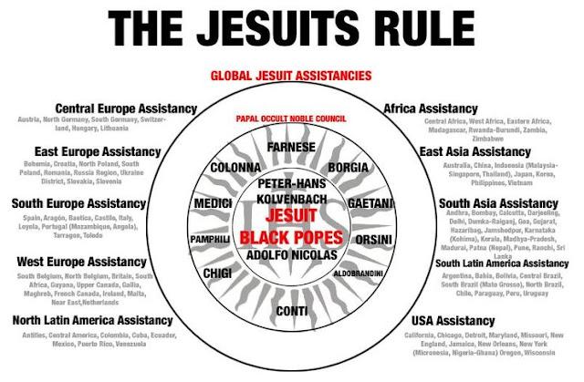 Image result for jesuit evil