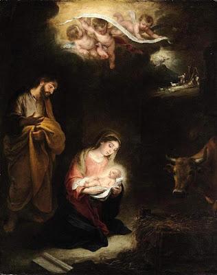 Image result for pintura nacimiento Jesus