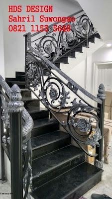 railing balkon klasik untuk rumah mewah