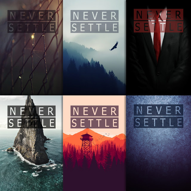 never settle wallpaper pack 2 12 wallpapers   oneplus