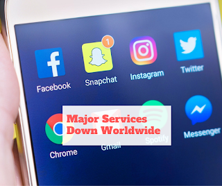 Gmail , Facebook, Messenger, Instagram and Maybe Whatsapp Down ?