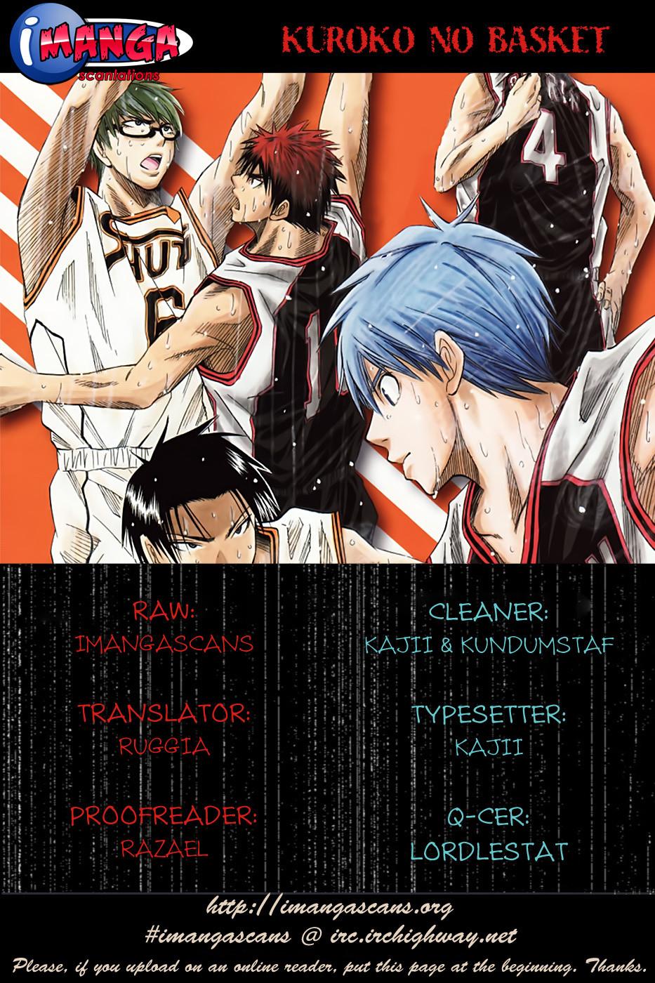 Kuroko No Basket chap 098 trang 1
