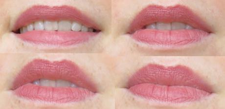 isadora bare blush lipstick