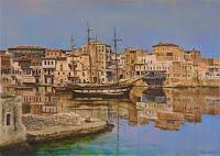 """Μέχρι τις 10 Ιανουαρίου η έκθεση ζωγραφικής του Πέτρου Ξενάκη """"Το Λιμάνι του Χθες"""""""