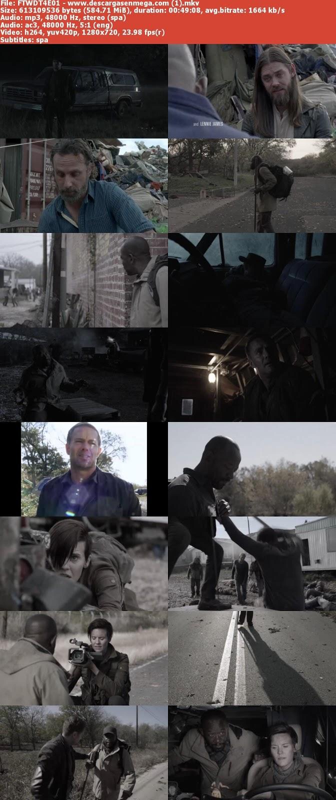 Capturas Fear The Walking Dead Temporada 4 Mega