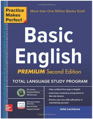 كتاب أساسيات اللغة الإنجليزية، الممارسة تجعلك ممتاز ( Basic English Premium )