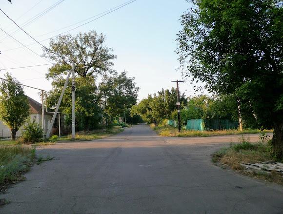 Авдеевка. Улица Независимости