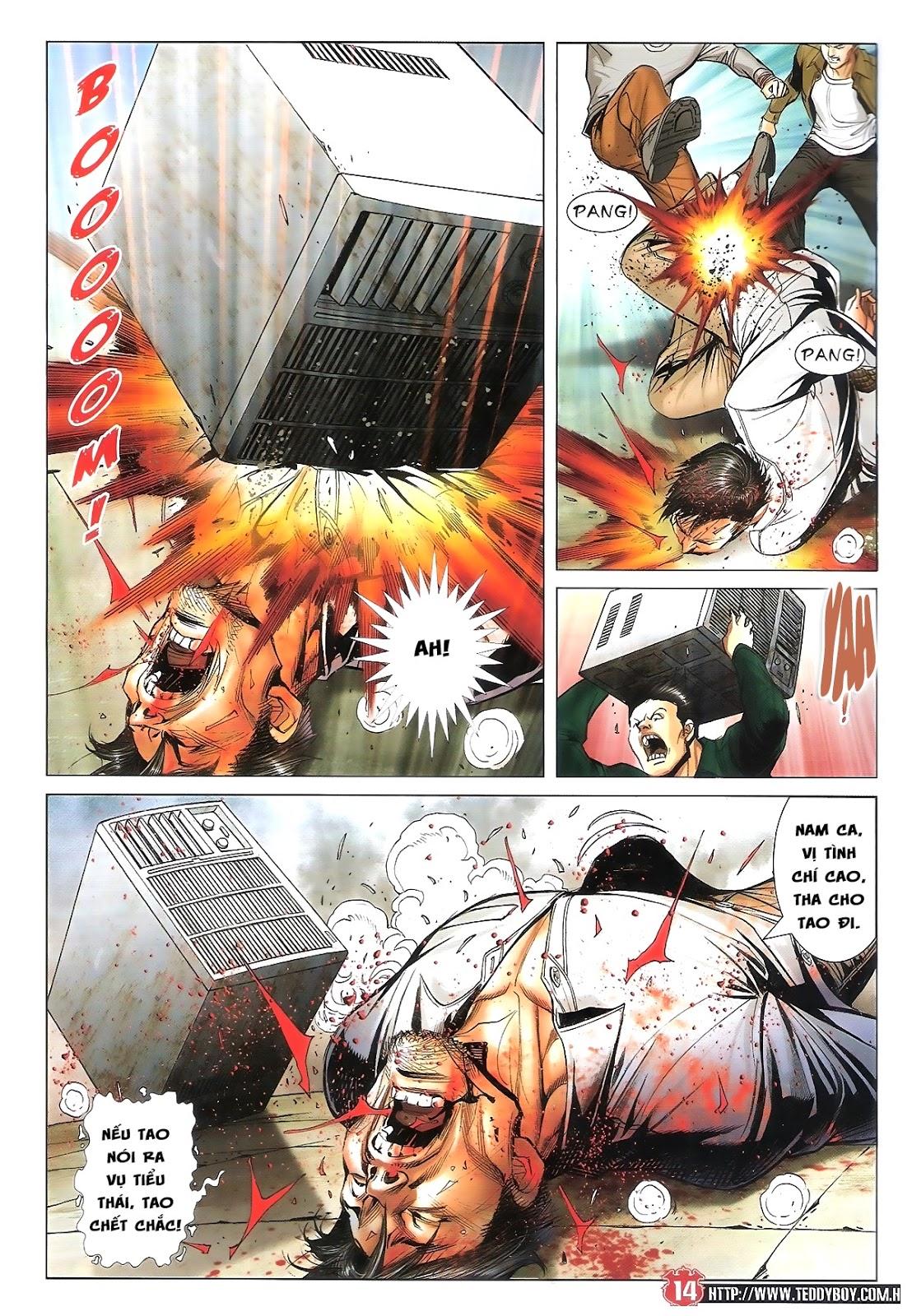 Người Trong Giang Hồ chapter 1696: giết vào vượng giác trang 13