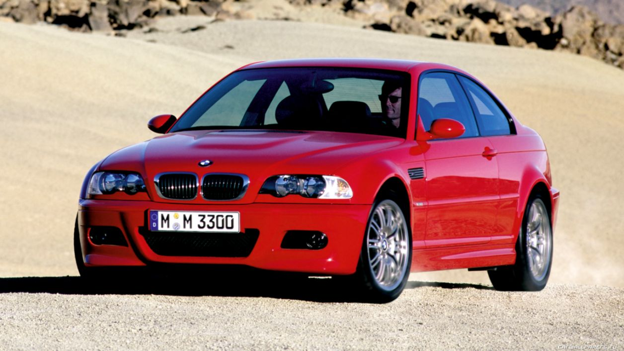 Bmw M3 E46 Red Car Hd Wallpaper Wallpapers Colorful