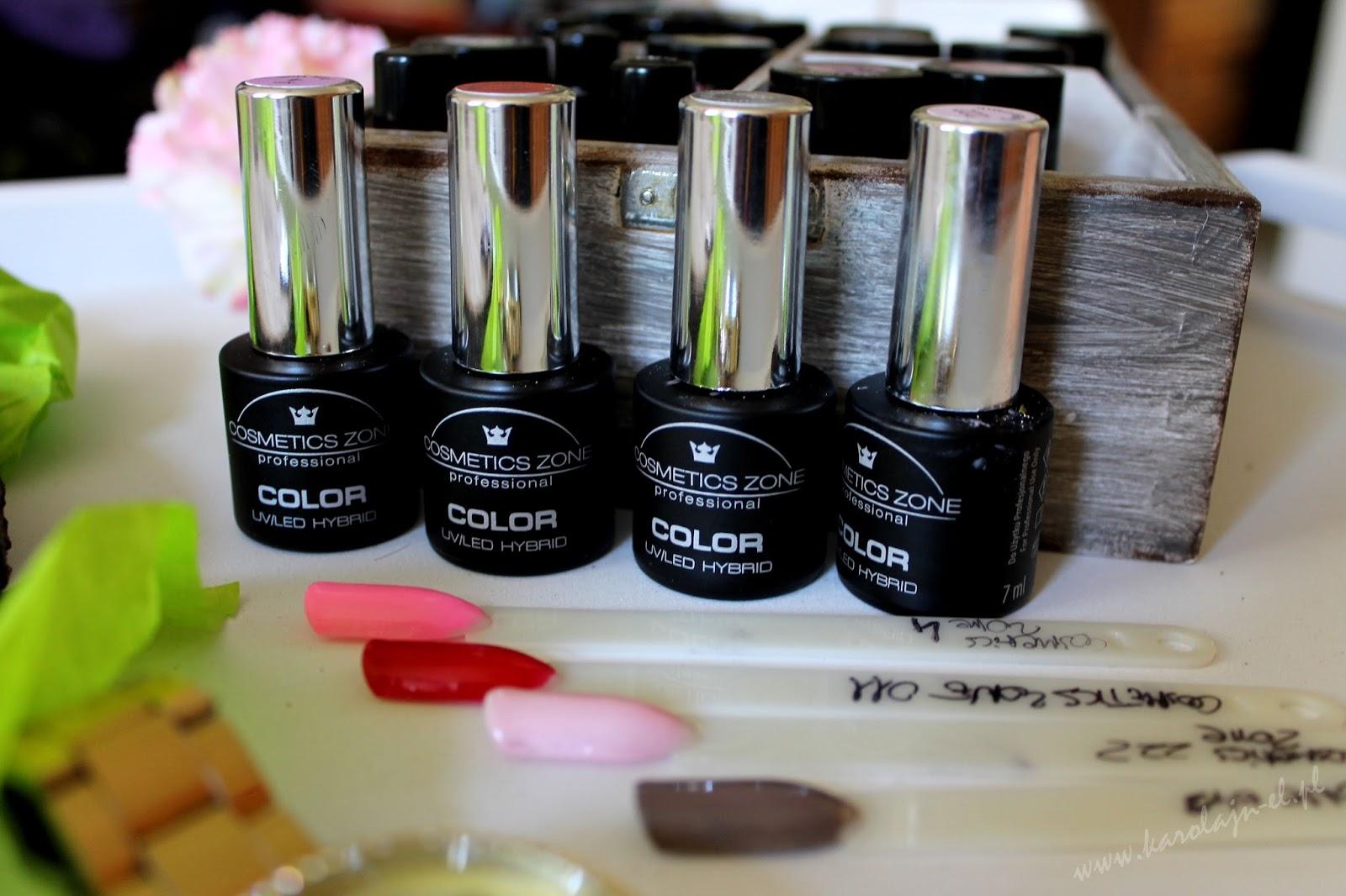 cosmetics zone lakiery moja kolekcja