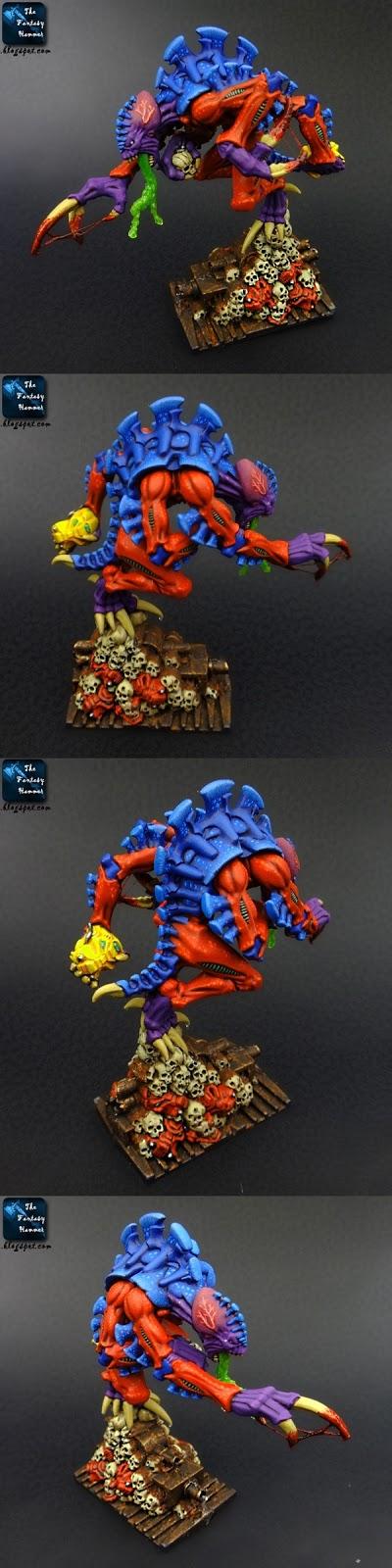 Tyranids Broodlord Space Hulk Behemoth CMON