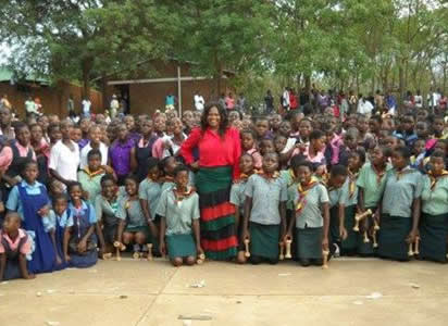Natasha Launches Mama Africa Foundation Keep Girls In School