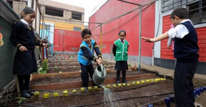 MINEDU: Cultivando la Educación Ecoeficiente - www.minedu.gob.pe