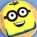 Minion, Despicable Me Cute Mango No Bake